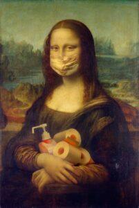 Coronavirus Mona Lisa